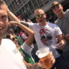 Gio met Feyenoord T-shirt The world through my eyes