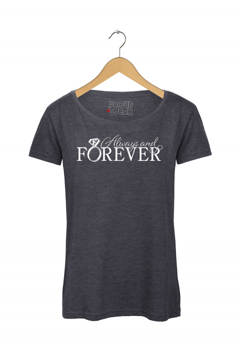 "Feyenoord T-shirt ""Always and Forever"""