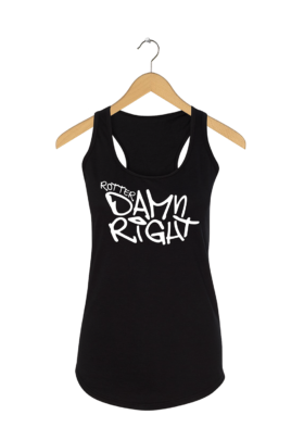"Rotterdam tanktop ""Rotterdamn right"""