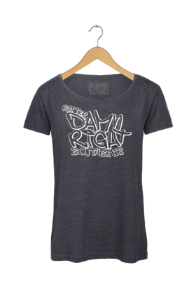 "Rotterdam T-shirt ""Rotterdamn right Southside"""
