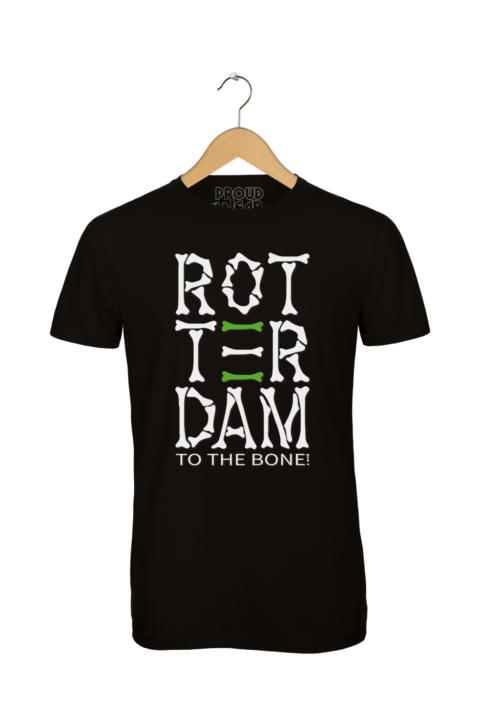 """Rotterdam T-shirt """"Rotterdam to the bone"""""""