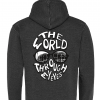 "Feyenoord hoodie ""The world through my eyes"" achterkant"