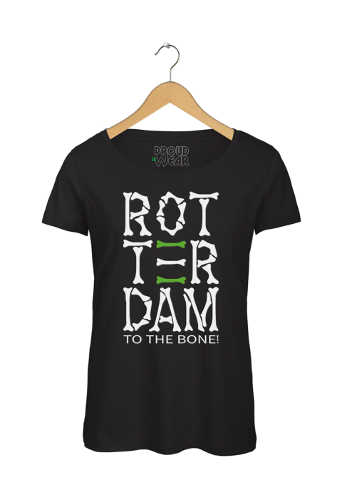 "Rotterdam T-shirt ""Rotterdam to the bone"""