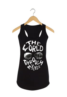 "Feyenoord tanktop ""The world through my eyes"""